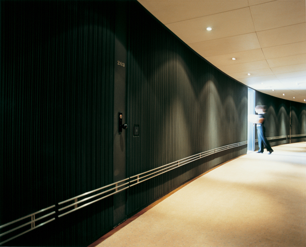 Halkin Hotel Corridor
