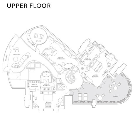 Corinthia Royal Suite Floorplan