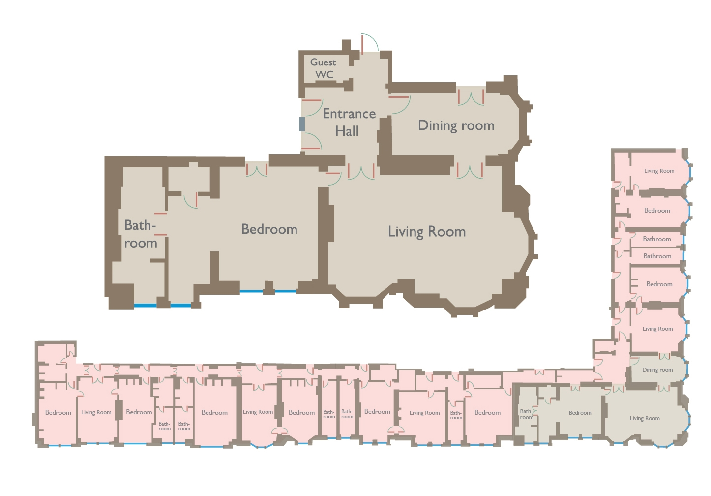 Claridges Royal Suite Floorplan