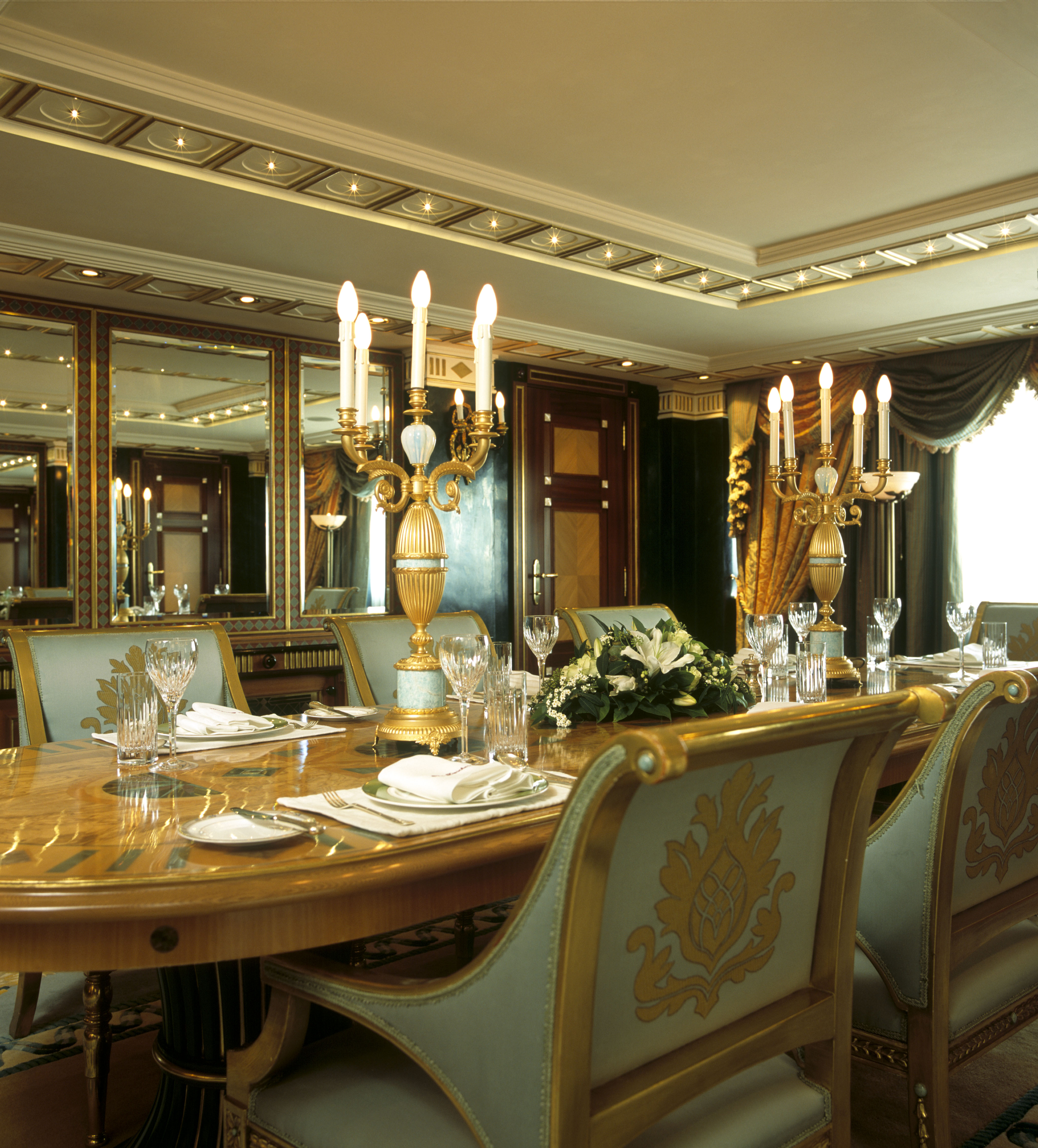 The Suri Suites Dining Room