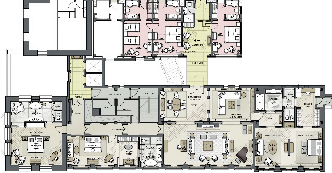 's Sterling Suite Floorplan