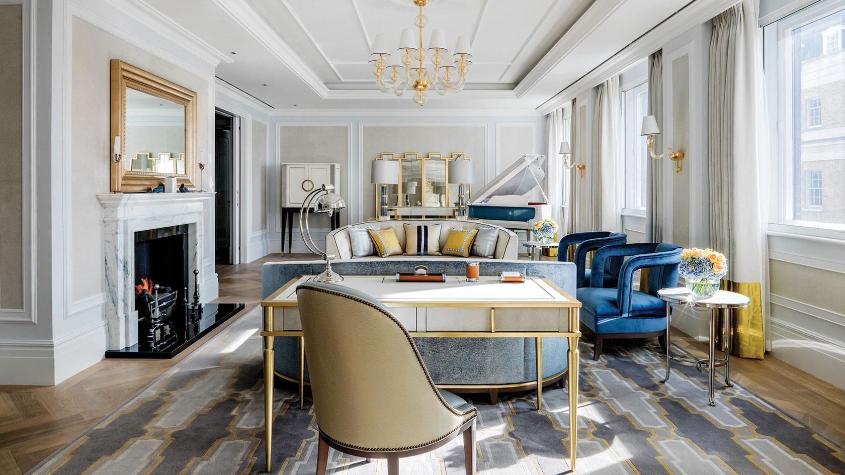 Langham Hotel's Sterling Suite