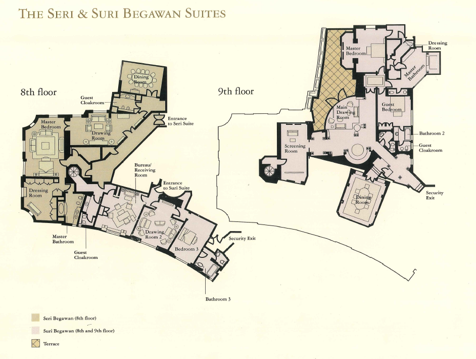 The Suri Suites Floorplan