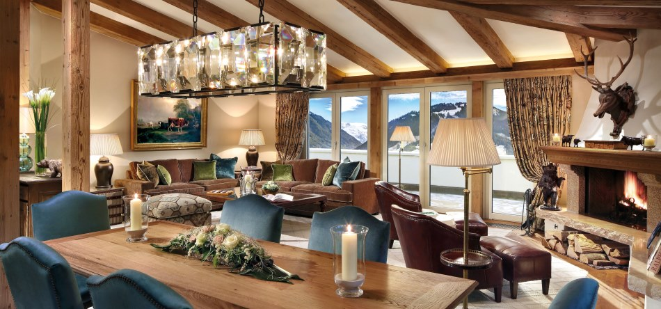 Gstaad Palace Penthouse Suite