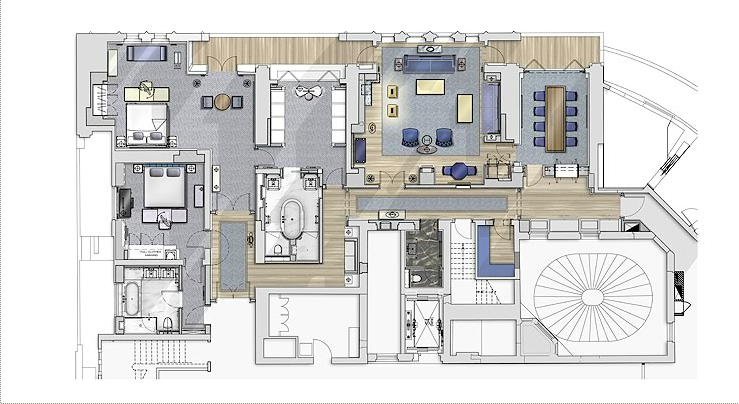 The Apartment Floorplan