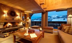Alpaga Chalet Living Room