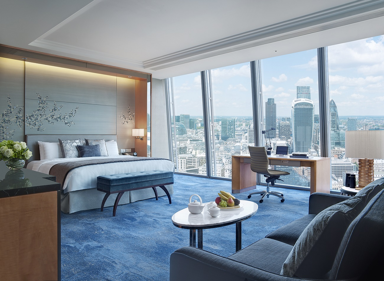 Premier City View Room - Shangri-La Hotel, At The Shard, London