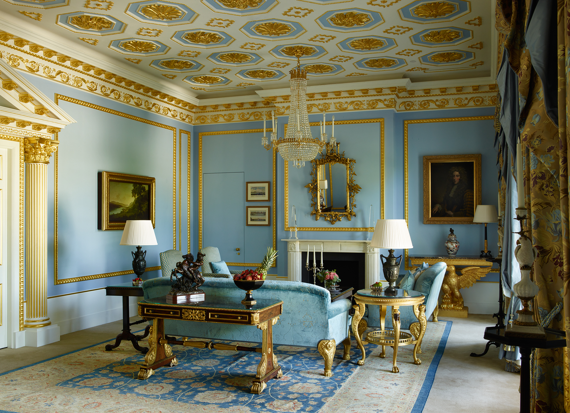 The Royal Suites Living Room