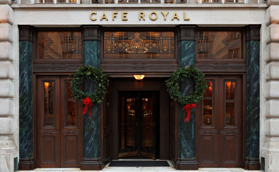 Cafe Royal Exterior