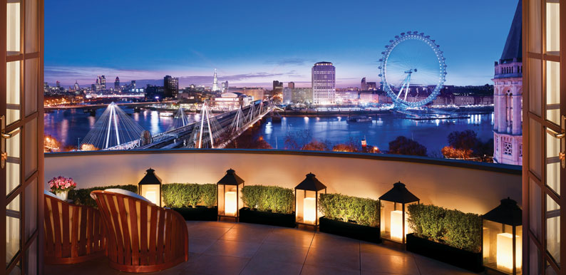 Corinthia London Royal Suite Terrace