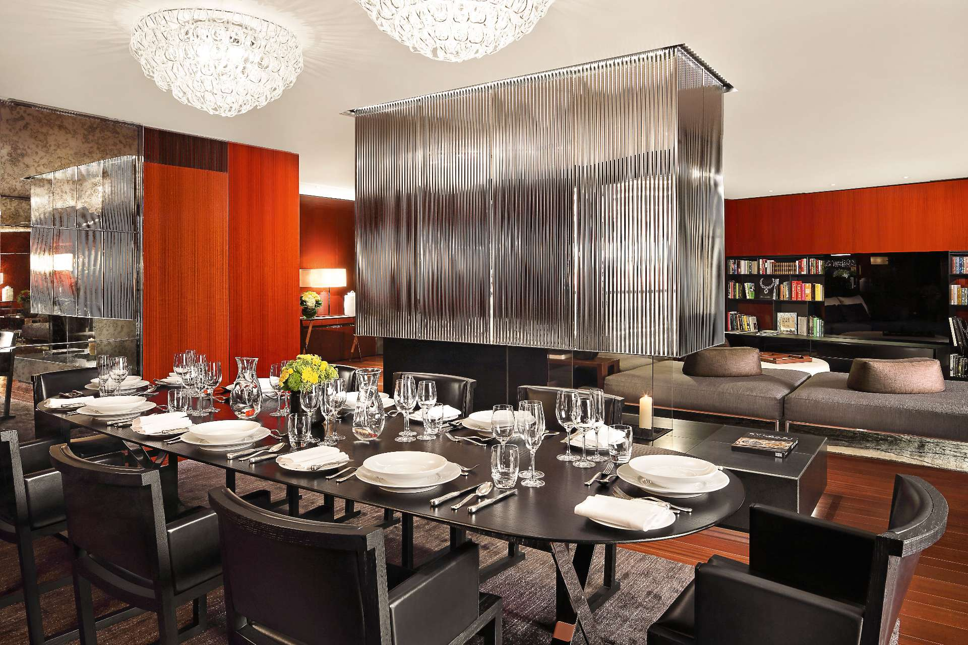 Bulgari Suite London Dining Room