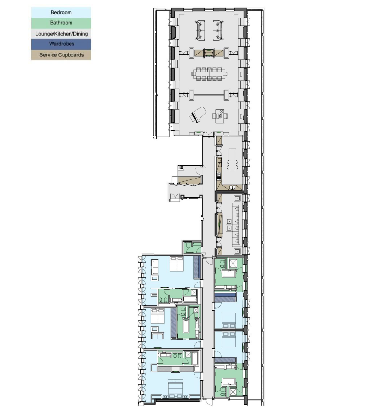 Grosvenour Suite Floor Plan