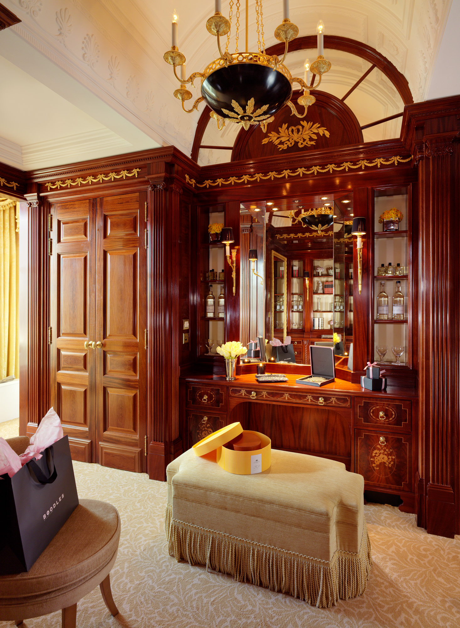 Savoy Royal Suite Dressing Room