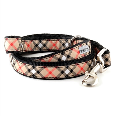 Burberry Plaid Tan Dog Lead