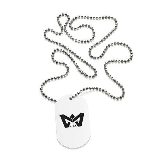 M Logo Dog Tag