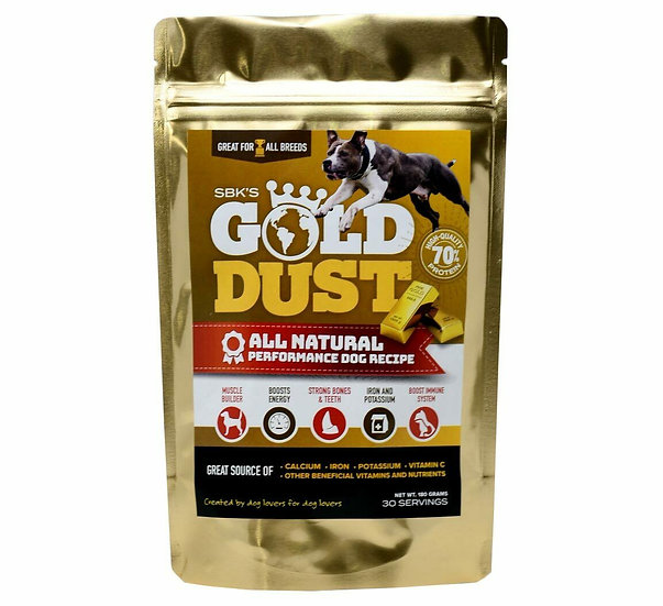 Gold Dust for Dogs