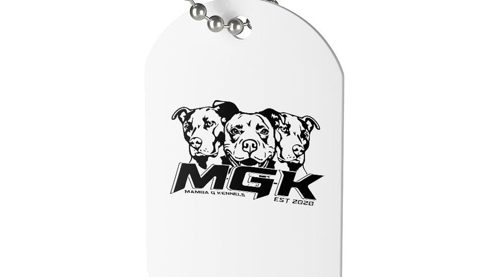 Custom MGK Dog Tag