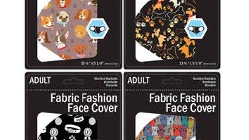 Dog Print Face Mask