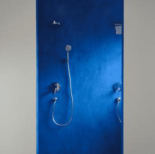 Murs et sol de douche