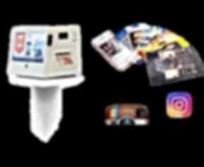 Custom branded prints using our live instagram printers