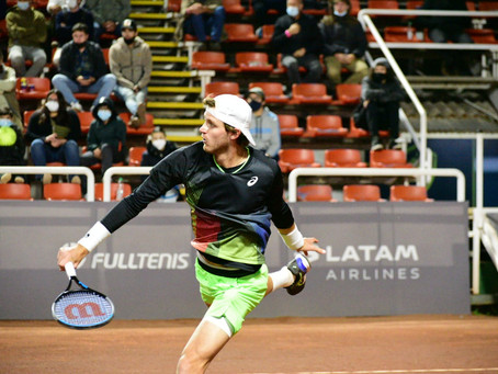 Nicolás Jarry cae víctima de sus errores en la primera ronda del Challenger de Santiago 3