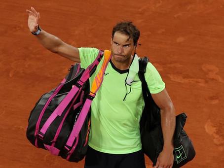 Rafael Nadal pone fin a su temporada: Problemas en su pie izquierdo lo dejan fuera del US Open