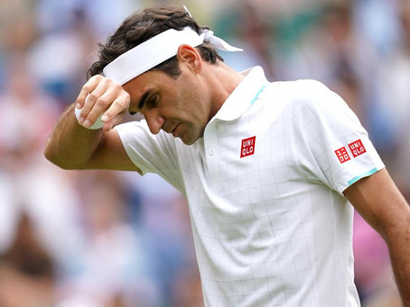Roger Federer al quirófano por tercera vez: El suizo cierra la temporada 2021