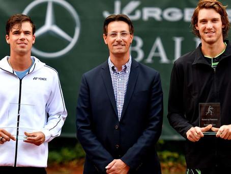 Nicolás Jarry perdió un duro partido ante Daniel Altmaier en la final del Challenger de Luedenscheid