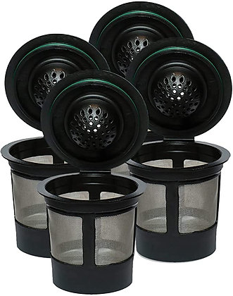 Reusable K Cups For Keurig 2.0 & 1.0 Brewers Universal Fit For Easy To Use Refil