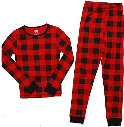 Just Love Pajamas for Girls Snug-Fit Cotton Kids PJ Set