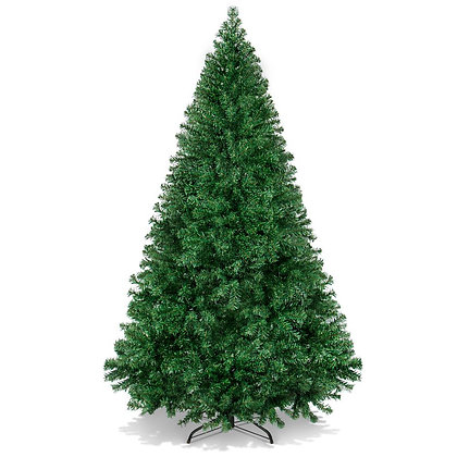 """Best Choice Products 6ft Premium Hinged Artificial Christmas Pine Tree w/ 1,000"