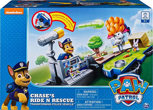Paw Patrol 6052626 Chase's Ride 'n' Rescu