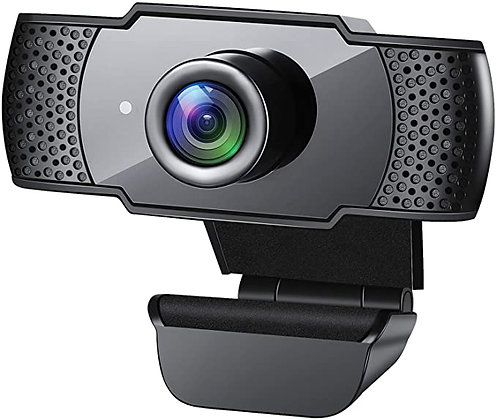 Webcam with Microphone, 1080P