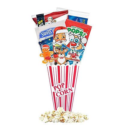 Christmas Redbox Movie Night Gift Baskets