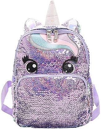 EDPD -Beautiful Sequin Unicorn Backpack