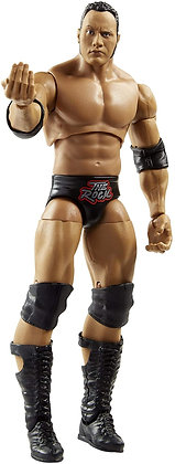 WWE The Rock Ultimate Edition Multiple-Pose 6-inch Action Figure with Entrance G