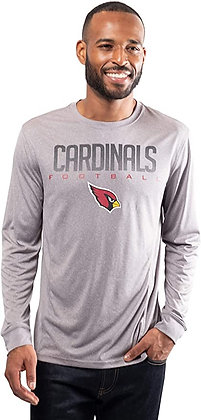 NFL Ultra Game Long Sleeve Crew Neck Tee Shirt