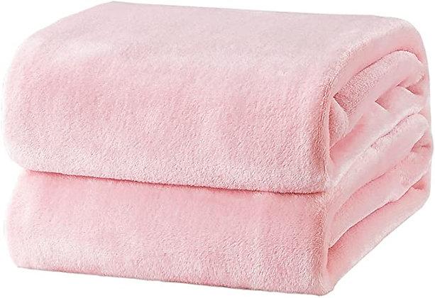 Bedsure Fleece Blanket Throw Size Pink Lightweight Throw Blanket