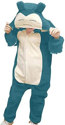 Adult Snorlax Plush One Piece Pajamas