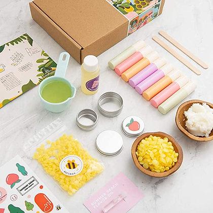 Urban Kangaroo Shea Butter Lip Balm DIY Kit