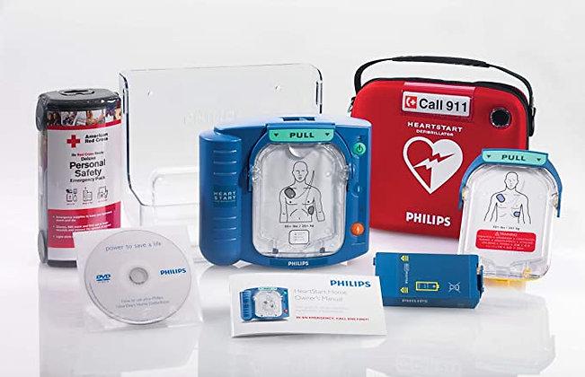Philips HeartStart Home AED Defibrillator Value Package