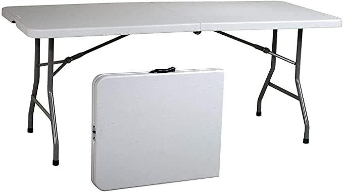 Ontario Furniture 8 Foot Plastic Folding Table