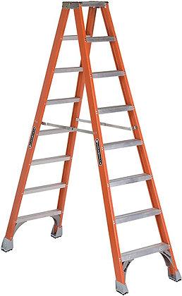 Louisville Ladder FM1508 Fiberglass Twin Front Ladder
