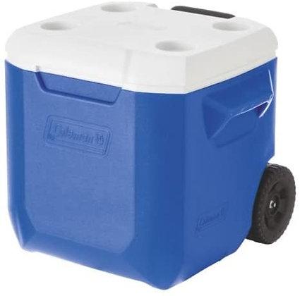 28 Qt. Wheeled Blue Cooler