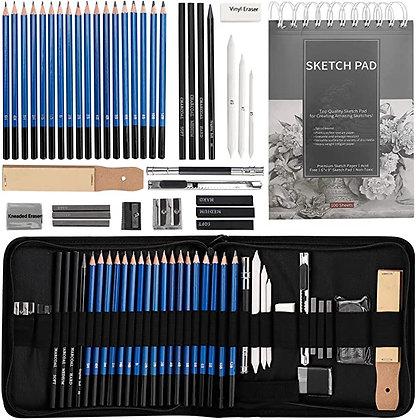Drawing Pencils Sketch Art Set-40PCS Drawing and sketch set
