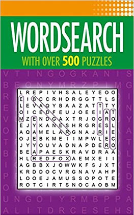 Wordsearch: With Over 500 Puzzles
