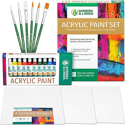 Premium Art Supplies for Adults Canvas Painting