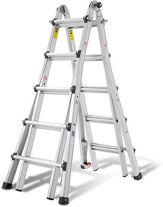 ORIENTOOLS Aluminum Extension Ladder
