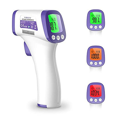 Vibeey Thermometer for Adults, Digital Non-Contact Forehead Infrared Thermometer
