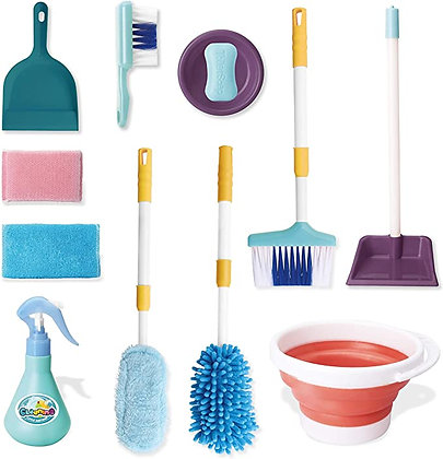 JOYIN Pretend Play Kids Toddler Housekeeping Cleaning Toy Set for Kids and Toddl